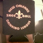 New Orleans Skee-ball and Drinking League Koozie