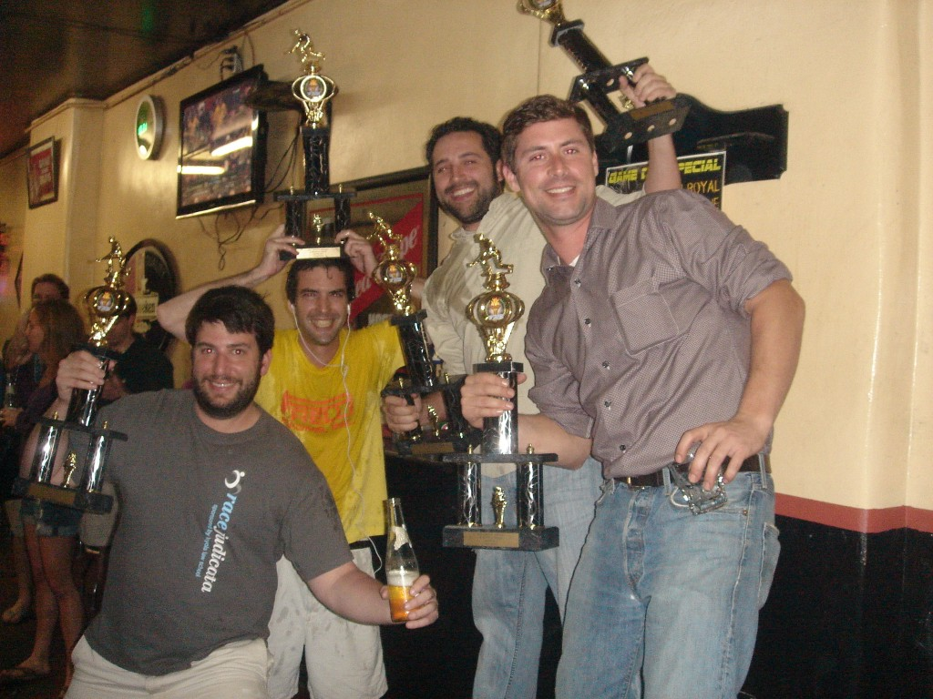 Long Balls - Winter 2012 New Orleans Skee-ball and Drinking League Champions
