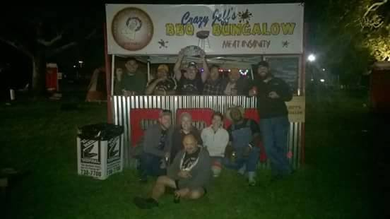 Crazy Jeff's BBQ Bungalow Hogs For The Cause 2015
